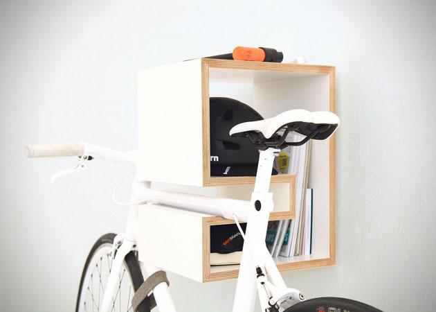 Kappo, un po' mensola, un po' scaffale per biciclette