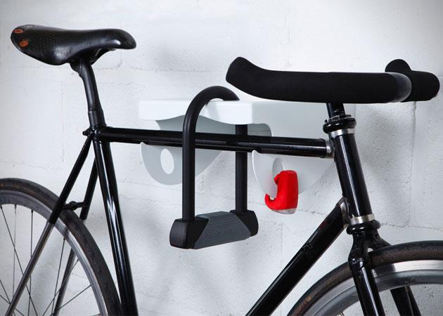 La rastrelliera da muro per bici di Mama