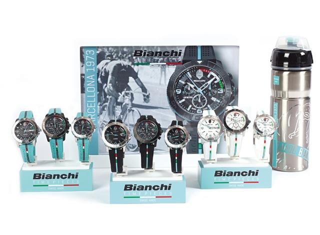 La collezione di orologi sportivi Bianchi Timepieces