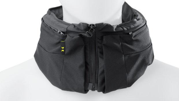 Il casco-airbag Hovding da vicino