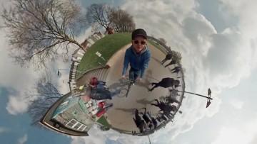 360° Video using 6 GoPro Cameras - spherical panorama timelapse
