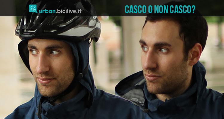 Il dubbio del ciclista: indossare o non indossare il casco in città?
