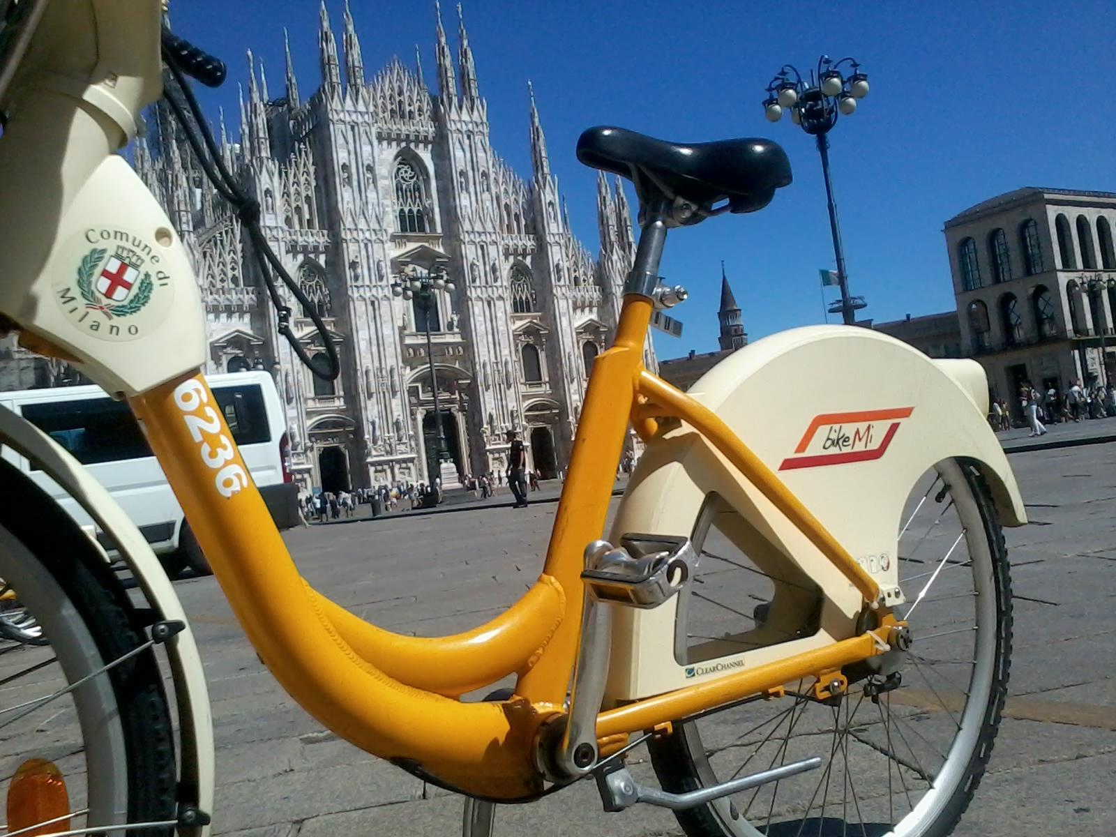 bike sharing integrato Bikemi