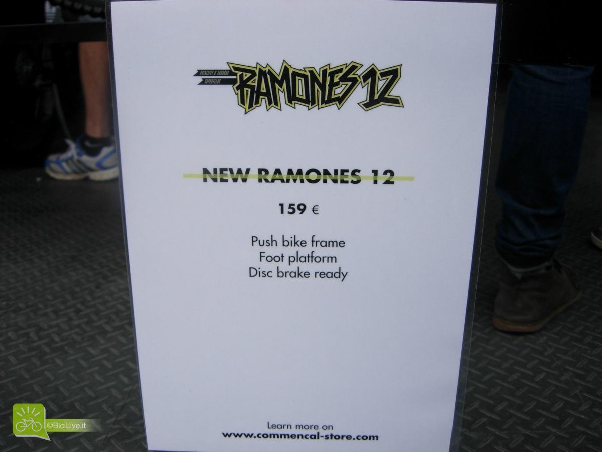 Ramones specs