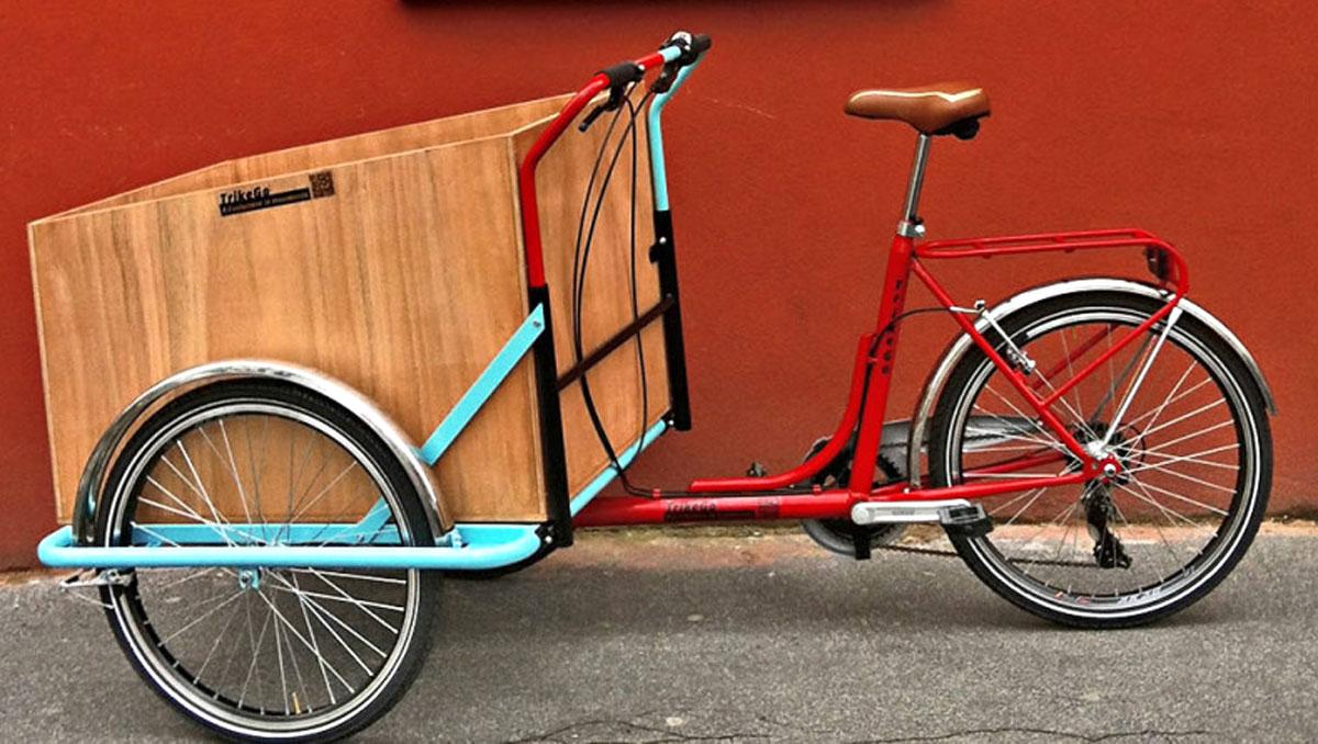 TrikeGO, bicicletta cargo per trasporto merci italiana