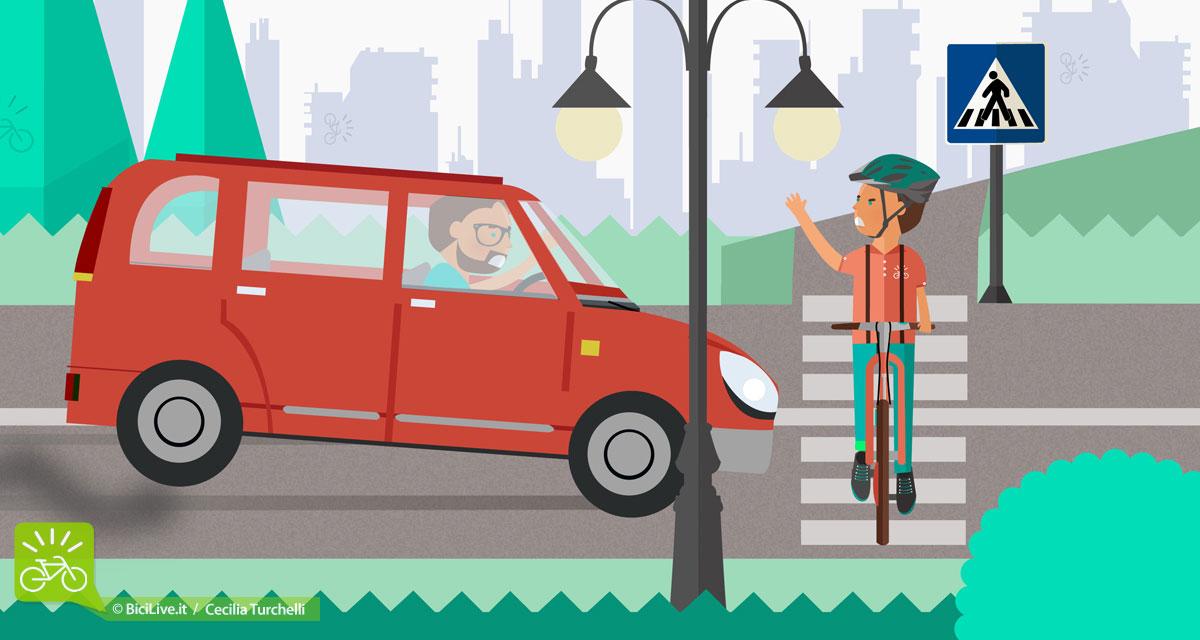 L'antagonismo tra automobilisti e ciclisti