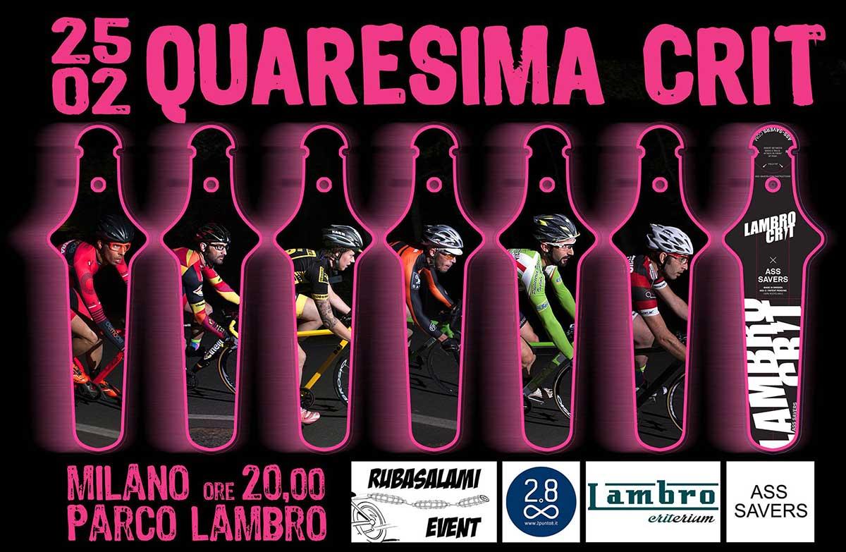 Primo evento del Lambro Crit a Milano