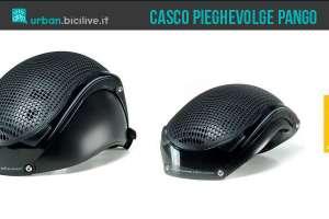 casco bici pieghevole pango biologic