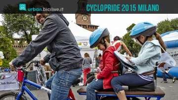 Cyclopride Milano 2015: in sella, manca poco