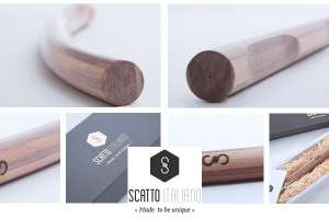 Manubri in legno per biciclette da Scatto Italiano