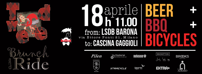 La locandina dell'evento Brunch and Ride