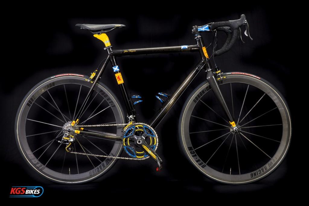 bici di lusso KGS ìTier 3ì custom bike