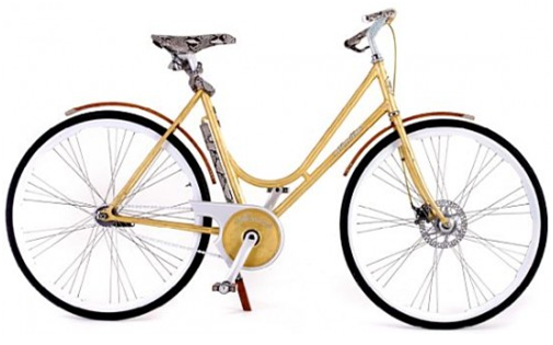 bici di lusso Montante Luxury Gold Collection