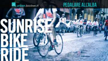 Sunrise Bike Ride: pedalare in città all'alba