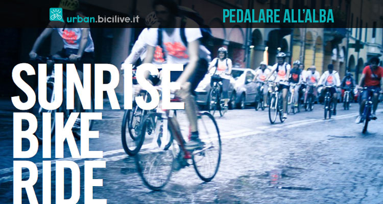 Sunrise Bike Ride: pedalare in città all'alba