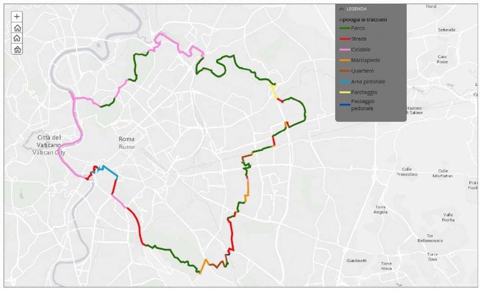 GRAB Grande Raccordo Anulare delle Bici