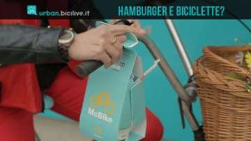 McBike è il cestino take-away per ciclisti creato da McDonald's