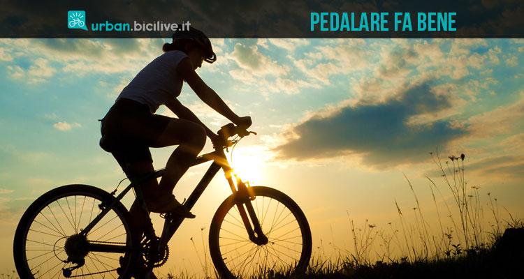 Andare in bicicletta fa bene alla salute e fa dimagrire