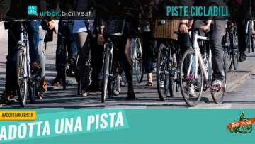 Immagine promozionale per Adotta una pista, il monitoraggio delle piste ciclabili a Torino