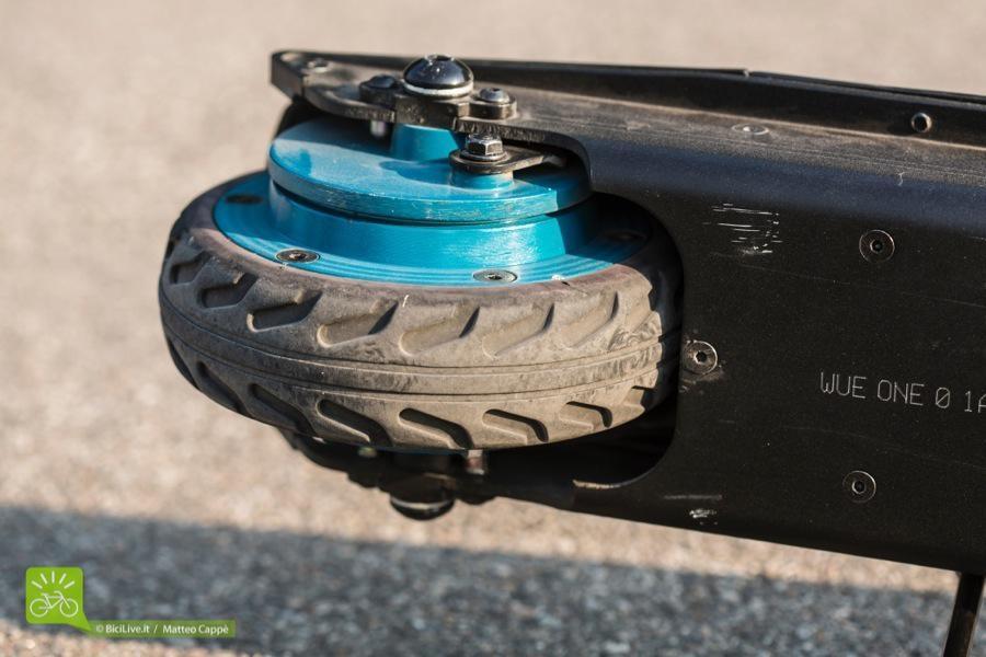 Lo pneumatico dell'Egret ha una sezione squadrata...