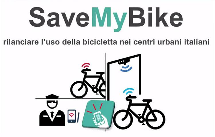 Una immagine di presentazione del progetto dell'antifurto SaveMyBike