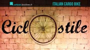 Una foto per la bici cargo progettata dalla ciclofficina Ciclostile