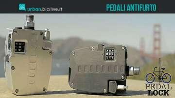 Una foto dell'antifurto per biciclette Pedal Lock