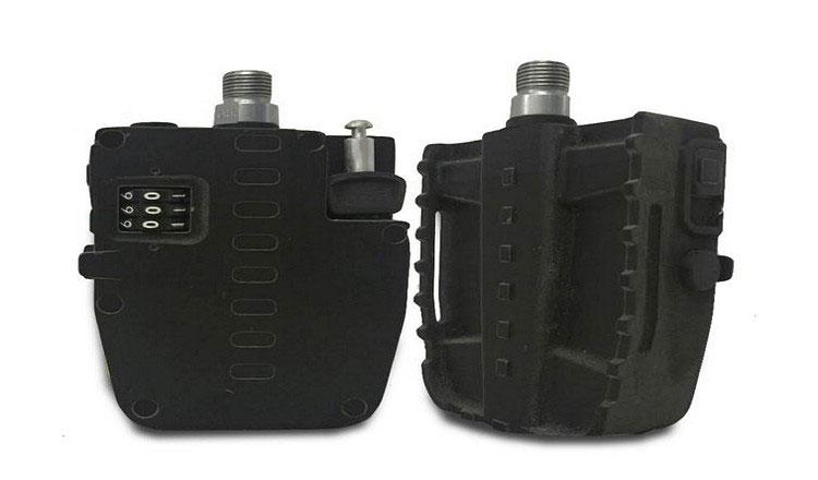 Due pedali Pedal Lock nella colorazione nera