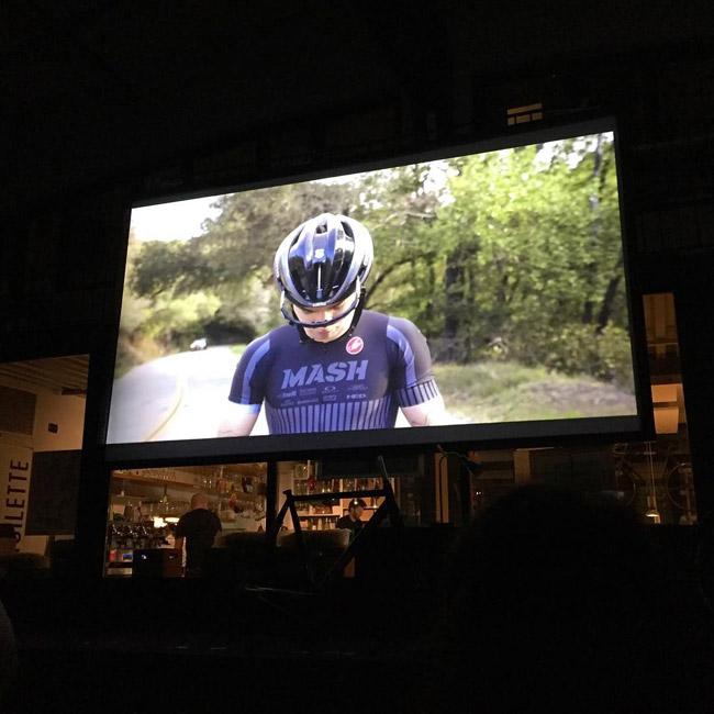 upcycle proiezione video cinelli mash
