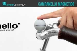 Nello, il campanello magnetico elettronico per biciclette