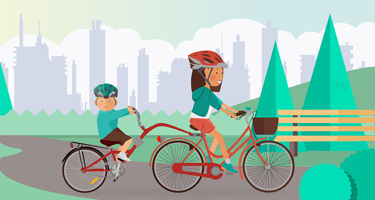trasportare-bimbi-bici-cammellino-appendice-mamma