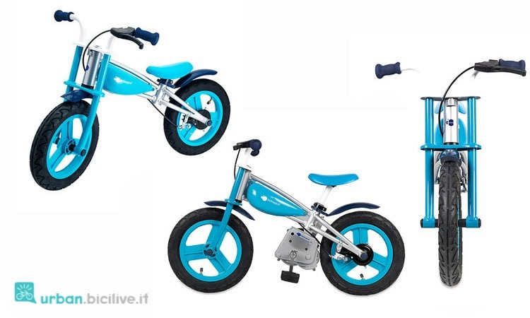 La bici senza pedali di Imaginarium con kit pedali da aggiungere