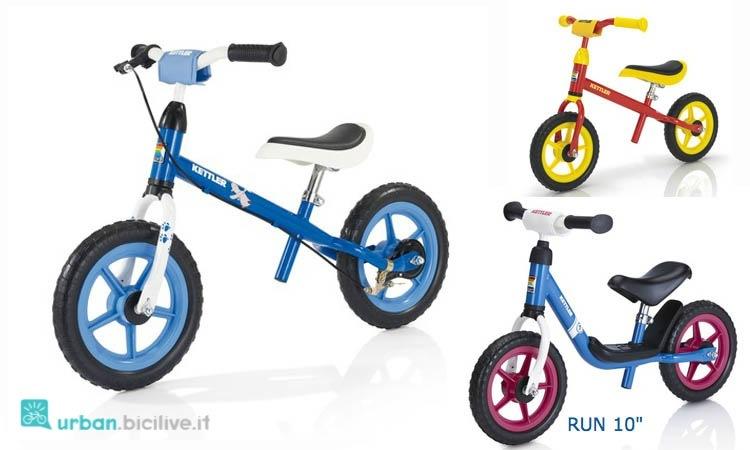 Le balance bike del marchio tedesco Kettler