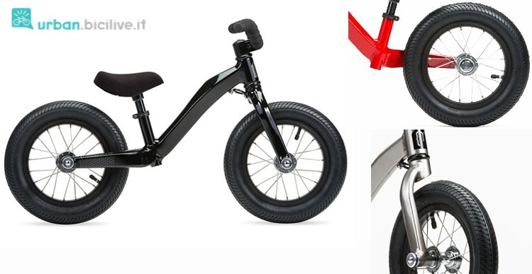 Le particolari balance bike della francese Moustache con telaio in alluminio idroformato