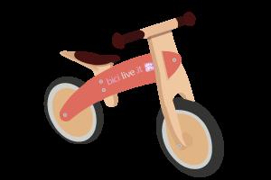 bicicletta senza pedali o balance bike