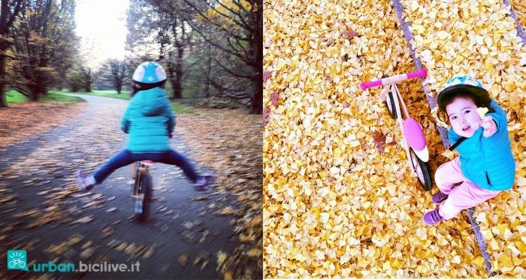 imparare-andare-in-bici-senza pedali-rotelle