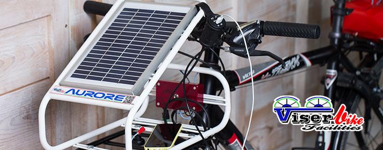 Pannello Solare Portatile Per Bici : Aurore caricabatteria portatile a energia solare per ciclisti