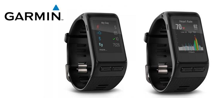 Lo smart watch sportivo Garmin Vivoactive HR
