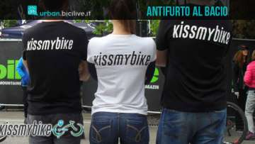 Kissmybike, il sistema antifurto per biciclette da Trento