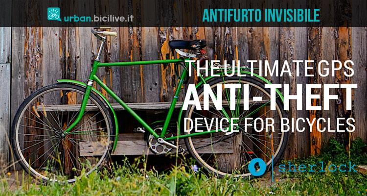 Sherlock, antifurto invisibile per biciclette