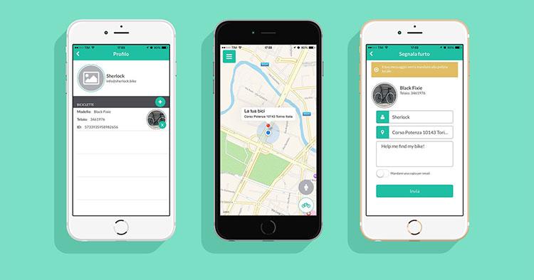 Sherlock l'antifuto microscopico e intelligente per bici funziona con un'app