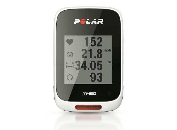 Il bike computer Polar M450 GPS