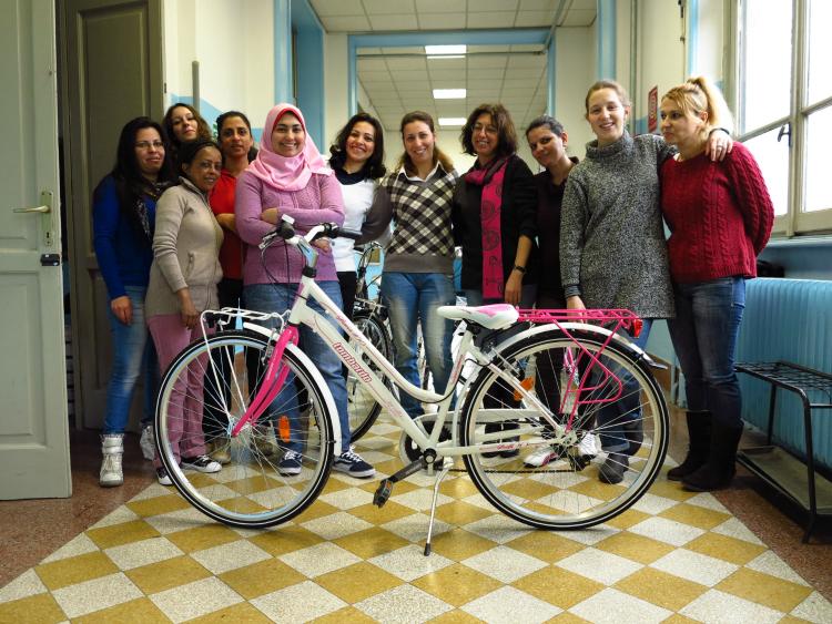 Mamme in Bici è un corso Cyclo Pride