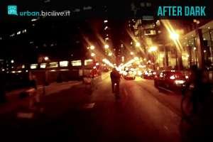 Consigli per viaggiare in bicicletta di notte col buio