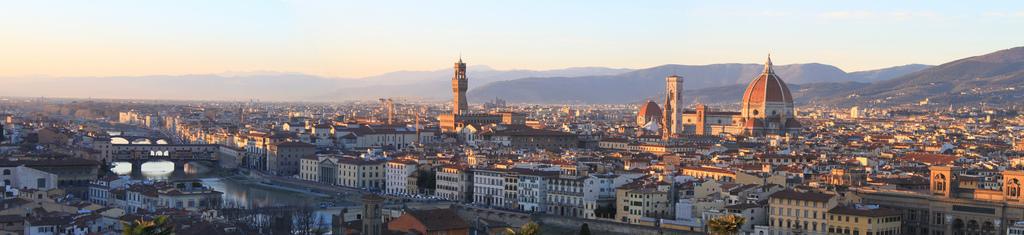 Panorama della città di Firenze