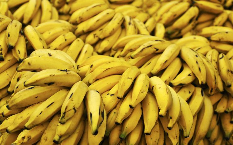 Banane ricche di potassio