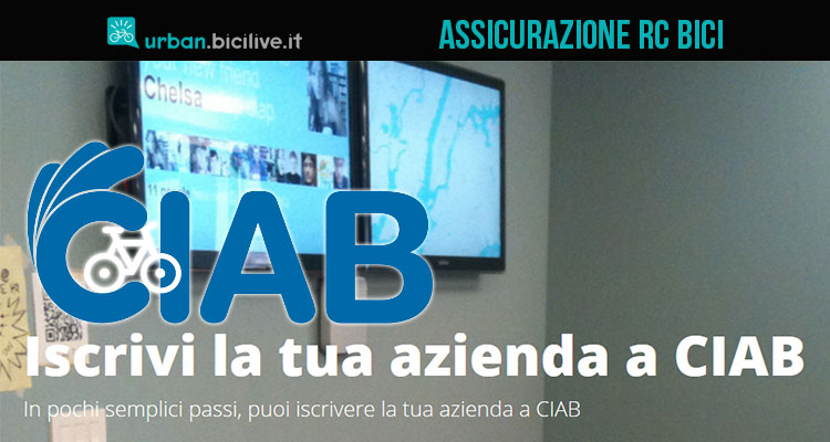 CIAB, l'assicurazione RC bici per aziende, enti e operatori turistici