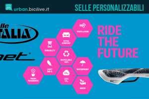 La linea Net di Selle Italia per selle personalizzabili da bici urbane