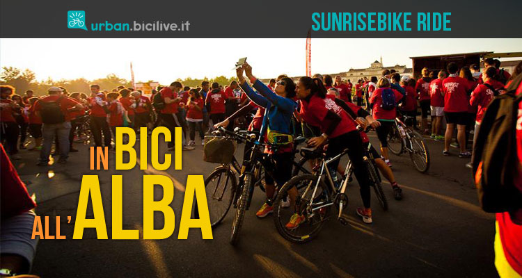 SunRiseBike Ride è un giro in bicicletta in città all'alba