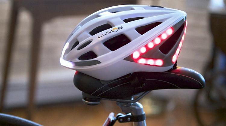 Lumos casco ciclista LED